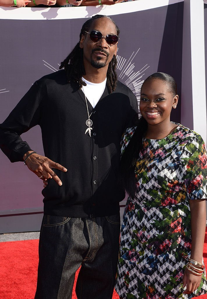 Snoop Dogg and his only daughter, Cori Broadus at the 2014 MTV Video Music Awards. | Photo: Getty Images