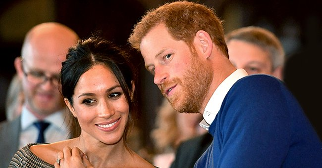 Twitter Users React after Meghan & Harry Share Rare Pic of Archie without Showing His Face