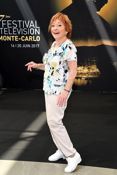 "Marion Game de ""Scènes de Ménages"" à l'appel photo lors du 57ème Festival de TV de Monte-Carlo à Monte-Carlo 