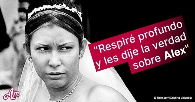 En vez de votos en su boda, novia lee impactantes mensajes de traición de su prometido infiel