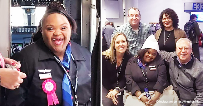 Airline Hires First Flight Attendant with Down Syndrome and She Couldn't Be Happier