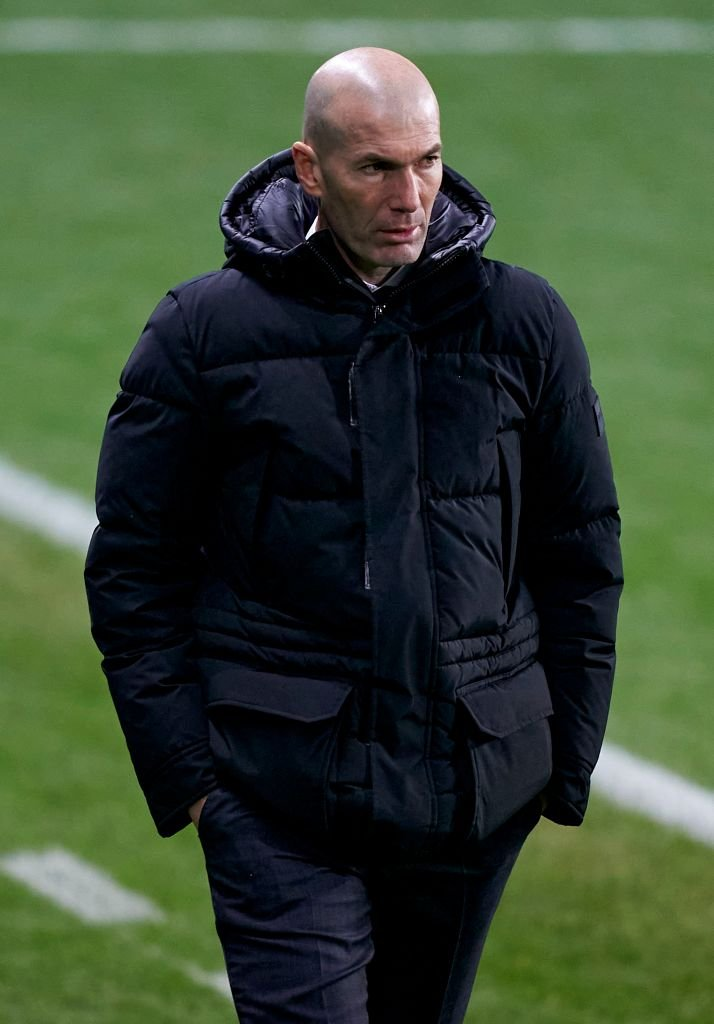Zinedine Zidane coach du Real Madrid | Photo : Getty Images