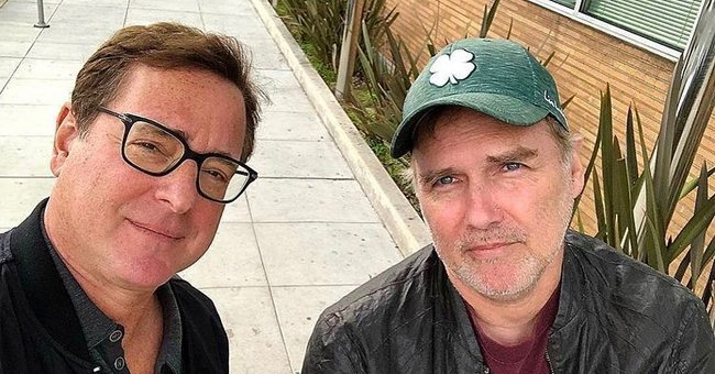 Bob Saget on the left and Norm Macdonald on the right | Photo: Instagram.com/bobsaget