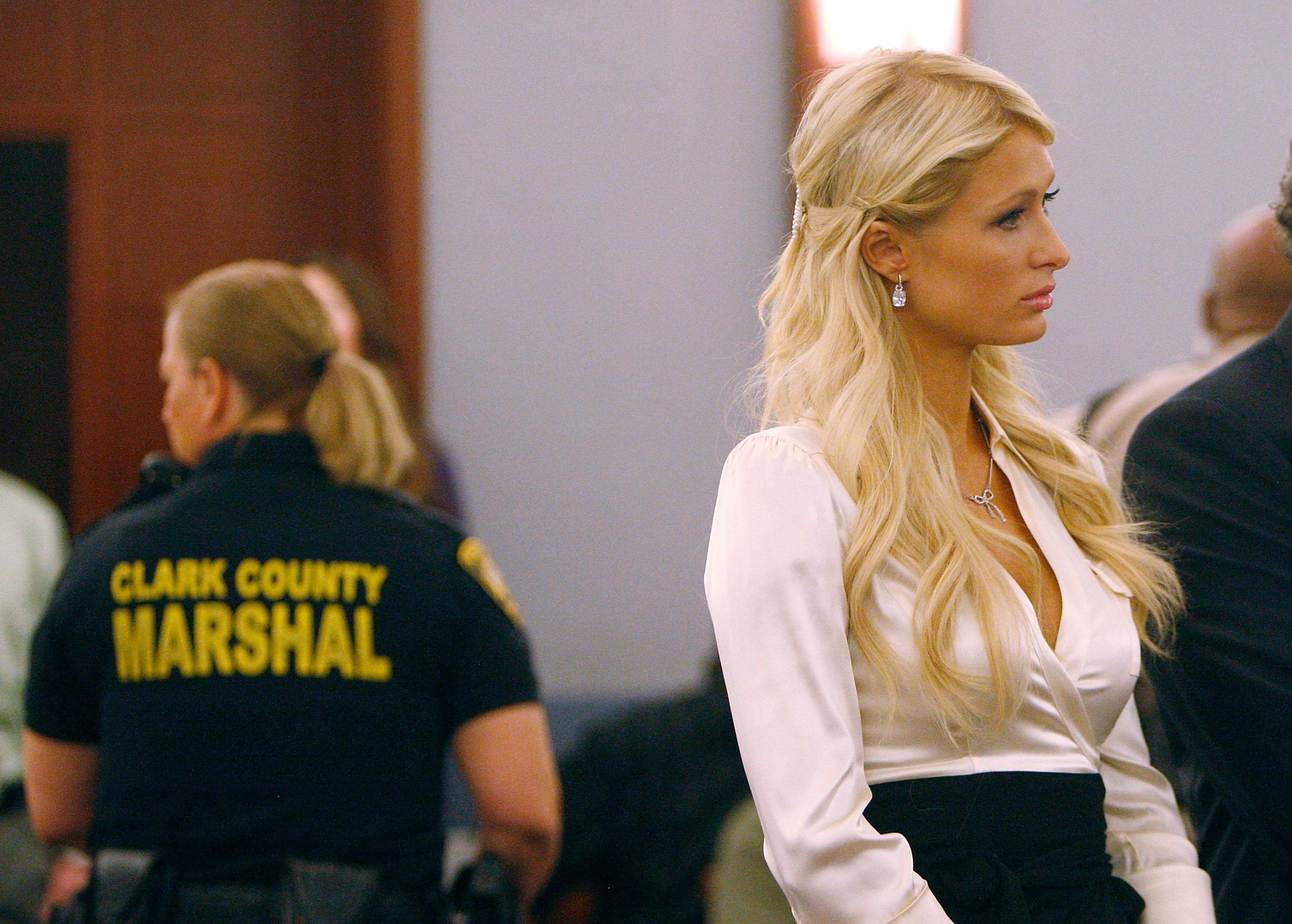 Paris Hilton appears in court for misdemeanor offences in Las Vegas, Nevada on September 10, 2010 | Photo: Getty Images