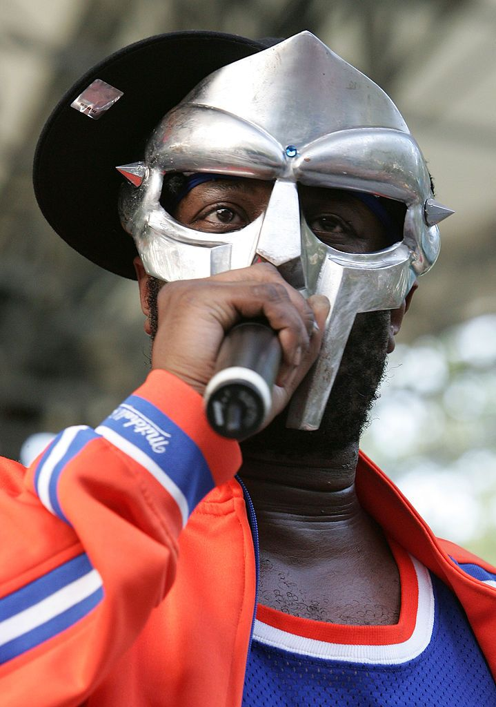 MF DOOM performs at a benefit concert for the Rhino Foundation in 2005, in New York City   Source: Getty Images