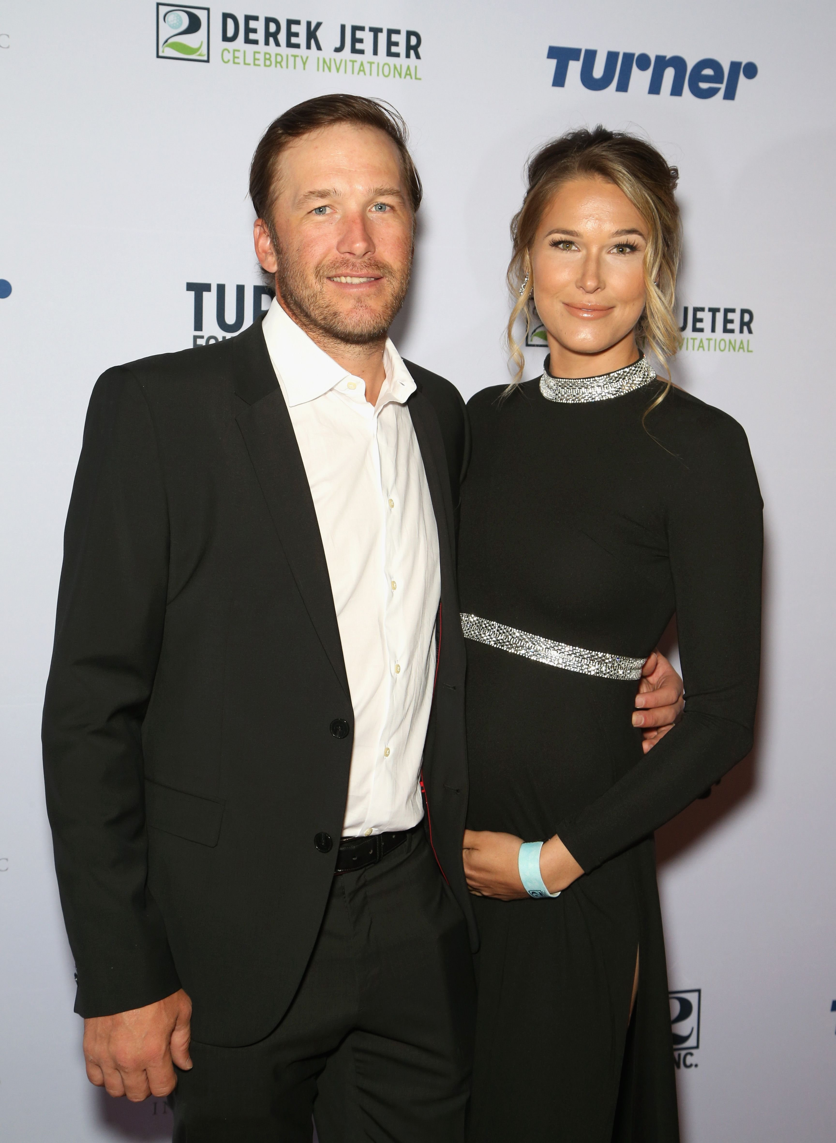 Bode Miller and his wife, Morgan Beck, attend the 2018 Derek Jeter Celebrity Invitational gala at the Aria Resort & Casino on April 19, 2018 in Las Vegas, Nevada | Photo: Getty Images