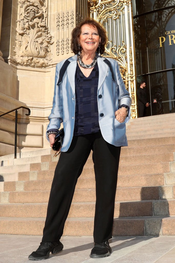 L'actrice Claudia Cardinale le 02 juillet 2019 à Paris, France. | Photo : Getty Images
