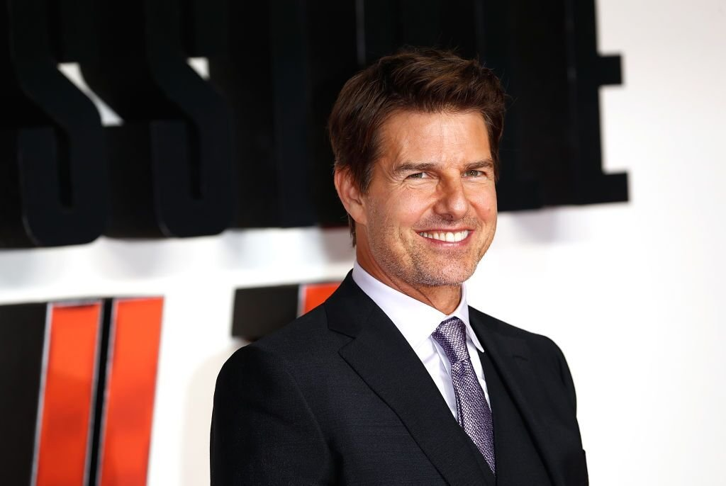 "Tom Cruise attends the UK Premiere of ""Mission: Impossible - Fallout"" at the BFI IMAX. 