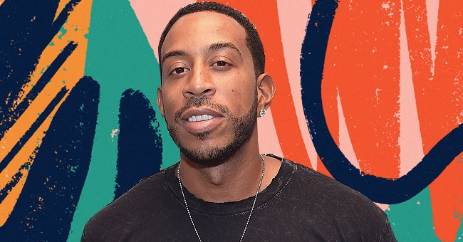 Ludacris' Wife Embraces Her Growing Baby Bump Posing in Green Floral Dress at Her Baby Shower