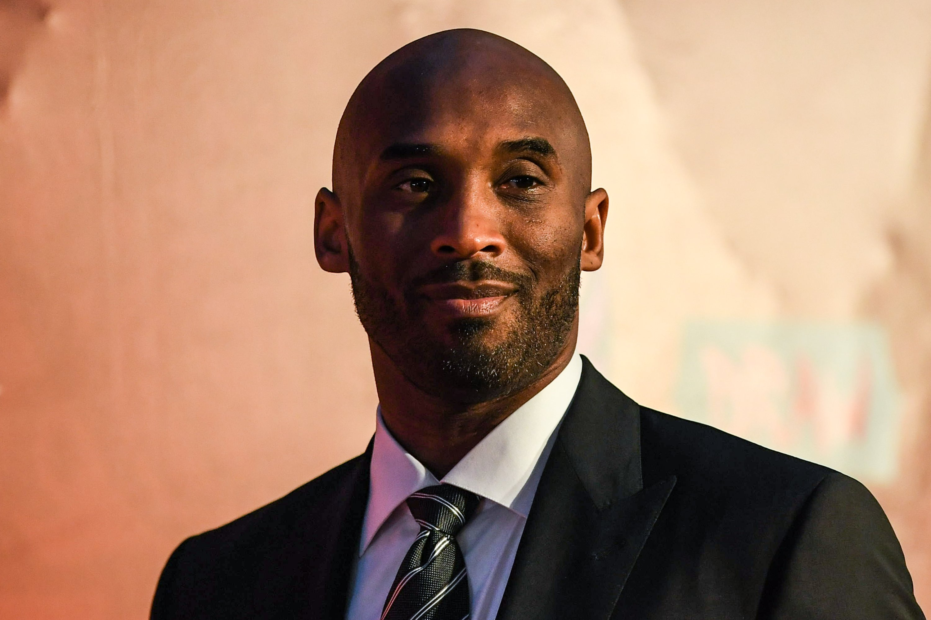 Kobe Bryant during the FIBA Basketball World Cup 2019 Draw Ceremony on March 16, 2019, in Shenzhen, China. | Source: Getty Images.
