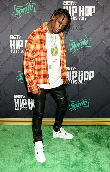 Travis Scott at the BET Hip Hop Awards 2015 at Atlanta Civic Center on October 9, 2015 | Photo: Getty Images