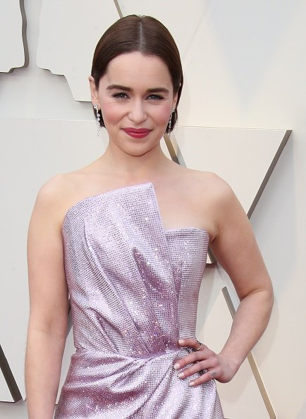 Emilia Clarke at the 91st Annual Academy Awards in Hollywood, California | Photo: Getty Images