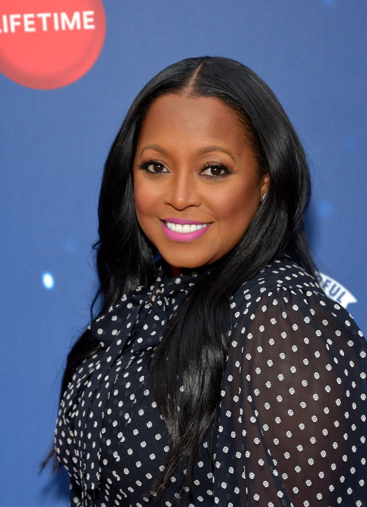 """Actor Keshia Knight Pulliam attends Say """"Santa!"""" with It's A Wonderful Lifetime photo experience at Glendale Galleria   Photo: Getty Images"""