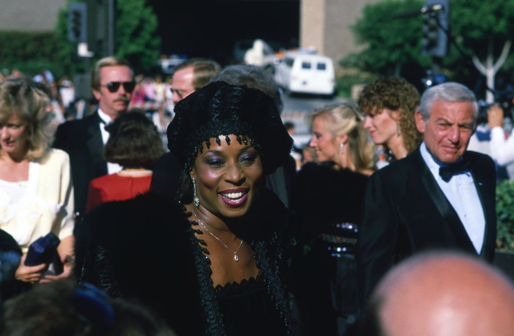 Madge Sinclair at the 37th Primetime Emmy Awards on September 22, 1985 in Pasadena   Photo: Getty Images
