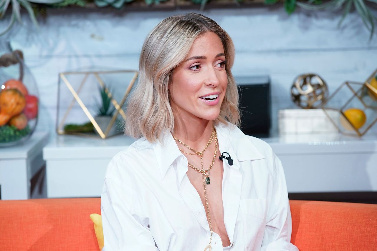 "Kristin Cavallari visits BuzzFeed's ""AM To DM"" on January 08, 2020 in New York City. 