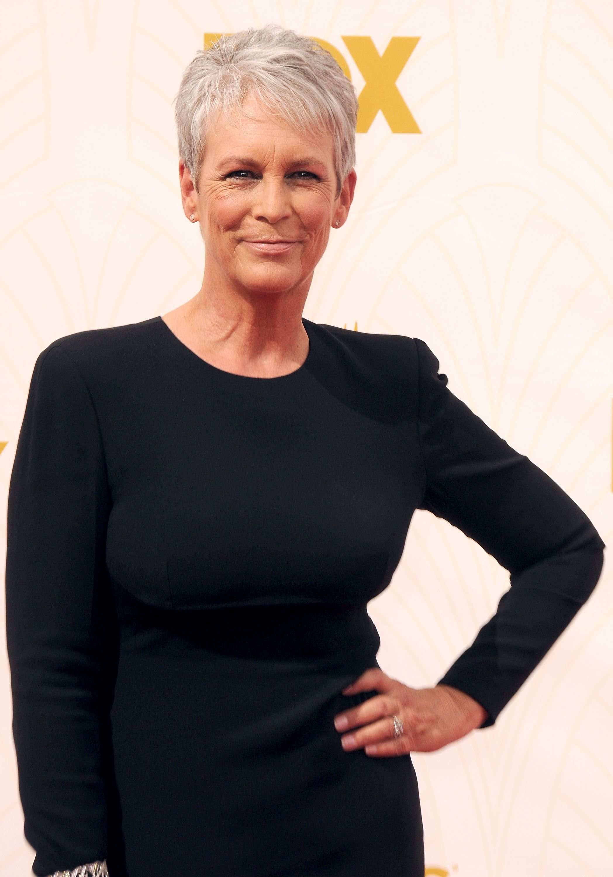 Jamie Lee Curtis during the 67th Annual Primetime Emmy Awards at the Microsoft Theater on September 20, 2015 in Los Angeles, California. | Source: Getty Images