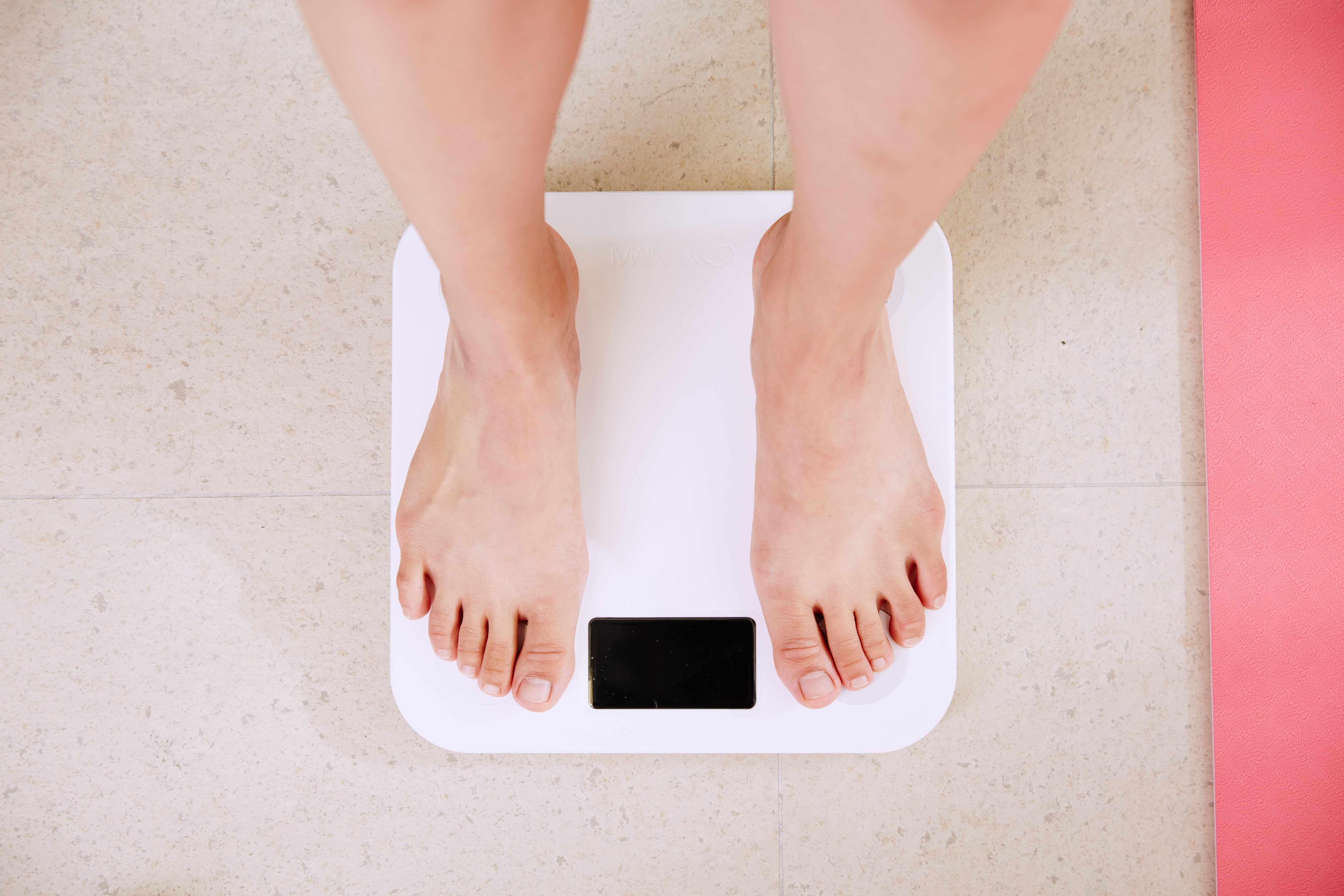 A weighing scale. | Source: Unsplash