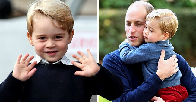 Prince George's Gestures during Wembley Attendance Decoded by Body Language Expert
