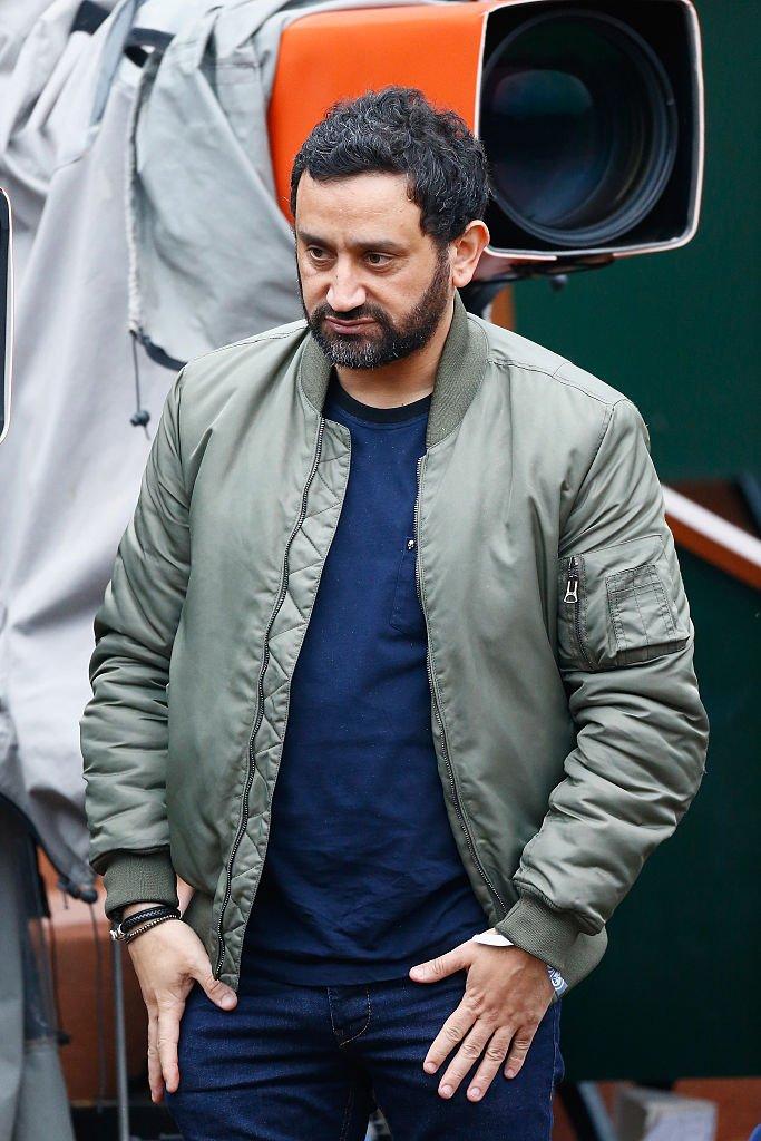 Cyril Hanouna à la journée portes ouvertes du tennis français 8 à Roland Garros | Getty Images