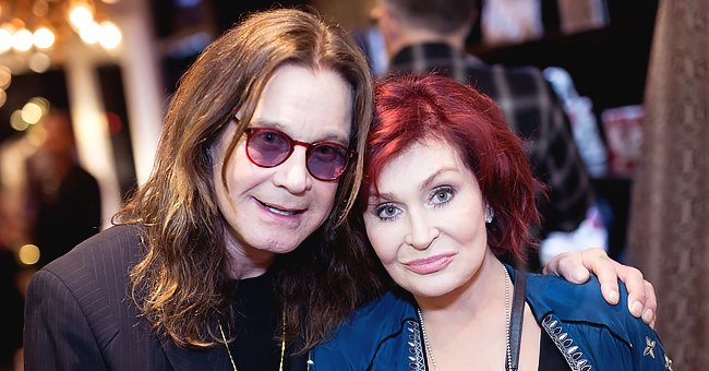 Sharon Osbourne Loves Her Gold Olive Branch Gifted by Ozzy