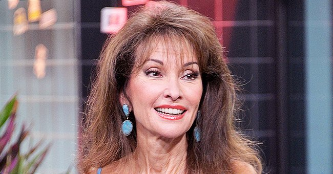 Susan Lucci Channels Erica Kane in Leather Pants and Tank Top