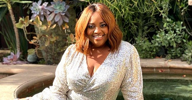 Sherri Shepherd Displays Toned and Strong Legs in a Sequined Mini Dress and Matching High Heels
