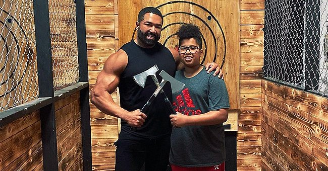 Jennifer Hudson's Ex-fiancé David Otunga & Son Show Their Strong Bond Axe Throwing in New Post