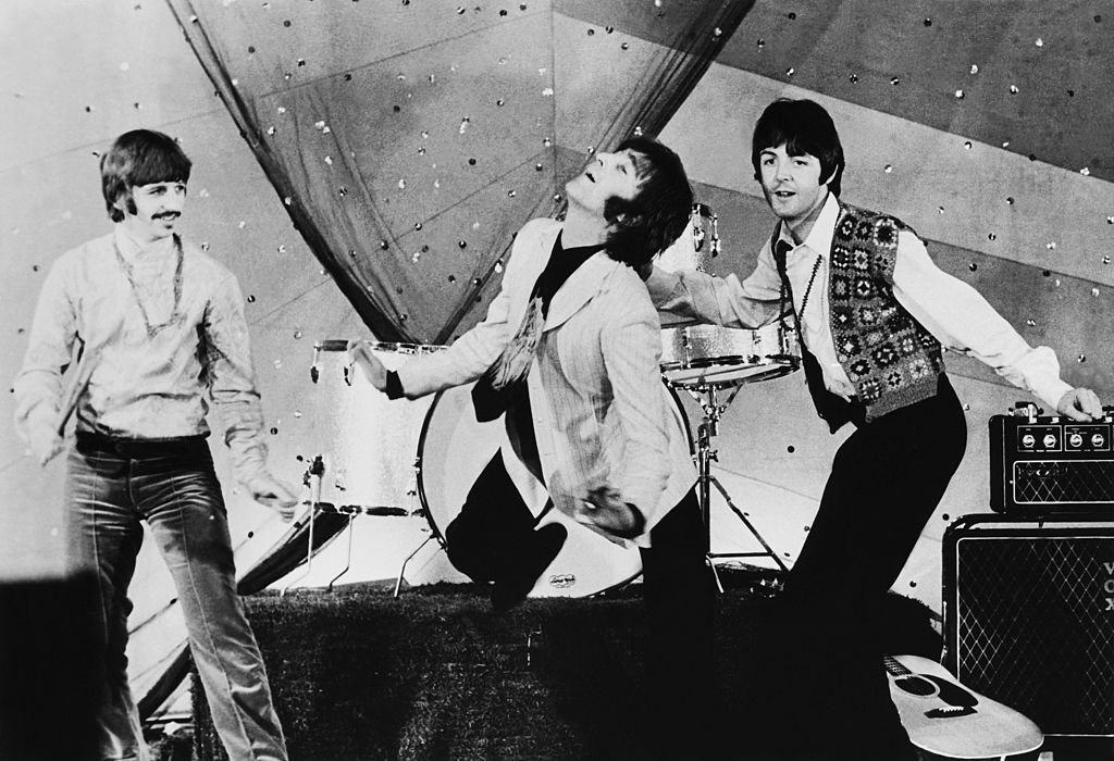 The Beatles Singing Hello Goodbye At The Tv During Sixties | Source: Getty Images/Gamma-Keystone