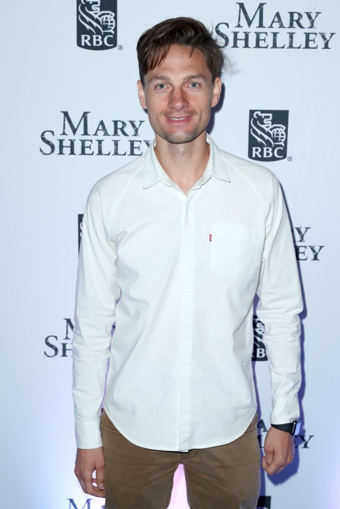 """Gregory Smith attends the RBC hosted """"Mary Shelley"""" cocktail party at RBC House Toronto Film Festival 2017  