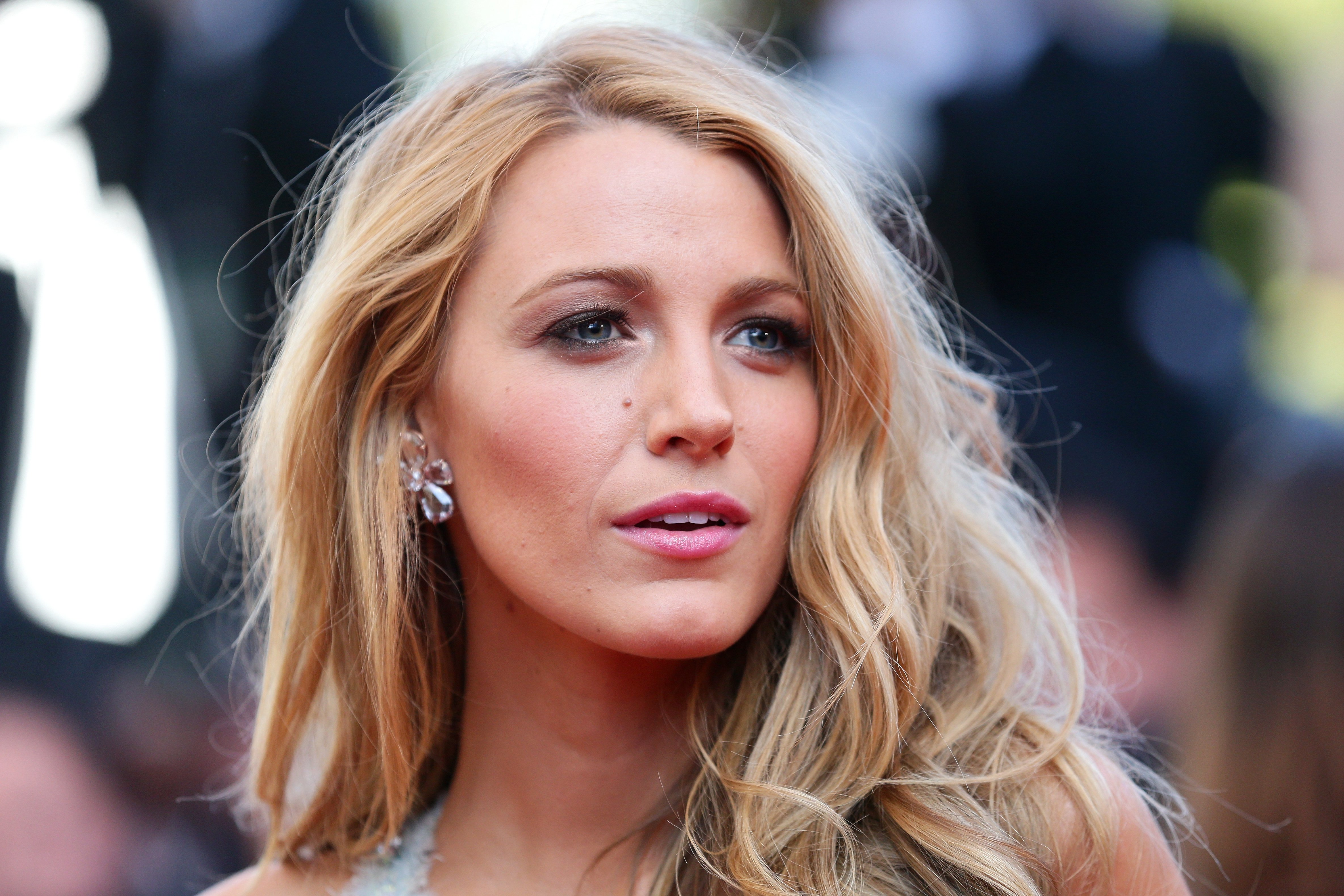 """Gossip Girl"" star Blake Lively attends the ""Mr. Turner"" premiere during the 2014 Annual Cannes Film Festival in France. 