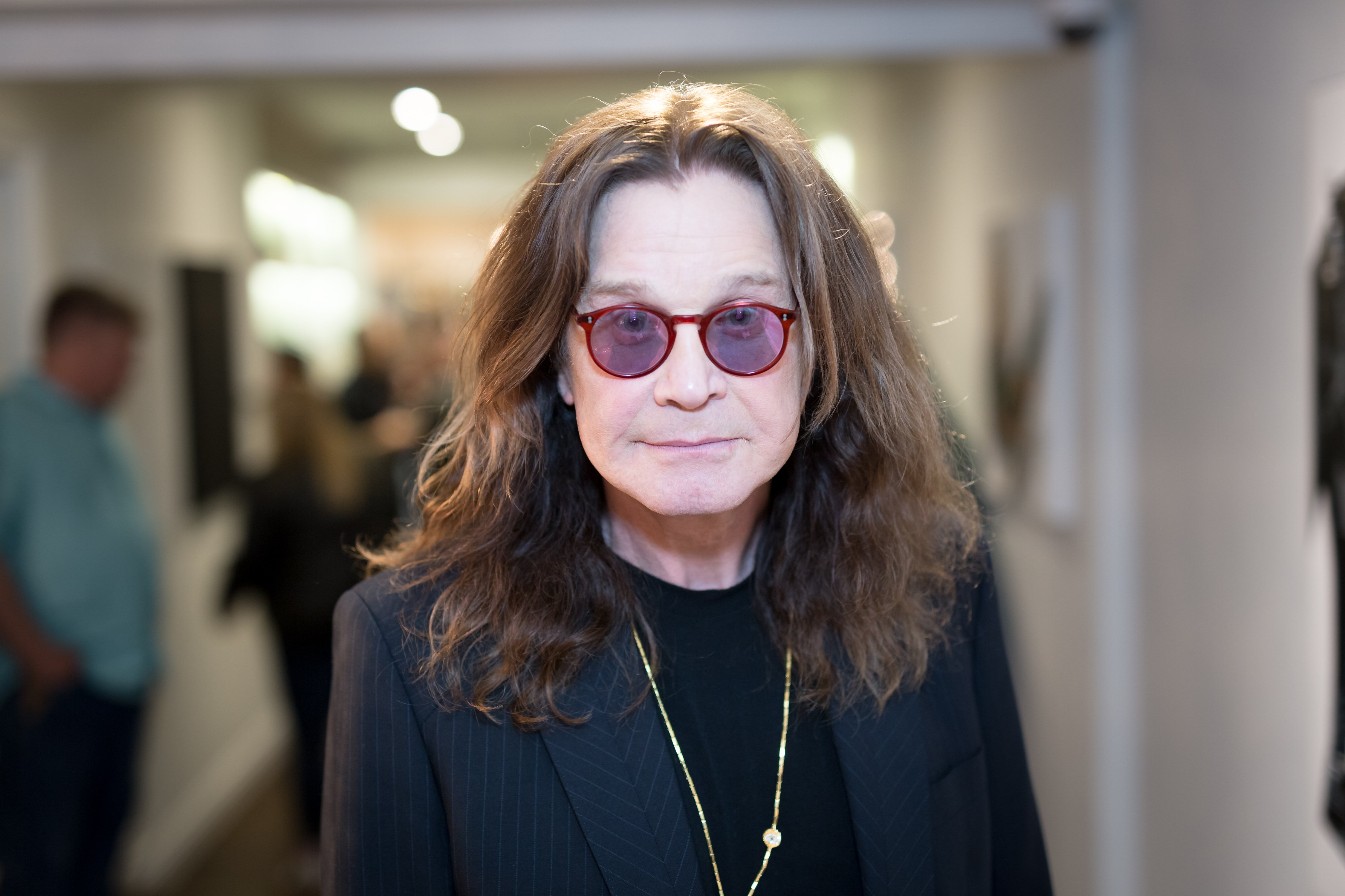 Singer Ozzy Osbourne attends the Billy Morrison - Aude Somnia Solo Exhibition at Elisabeth Weinstock on September 28, 2017, in Los Angeles, California. | Source: Getty Images.