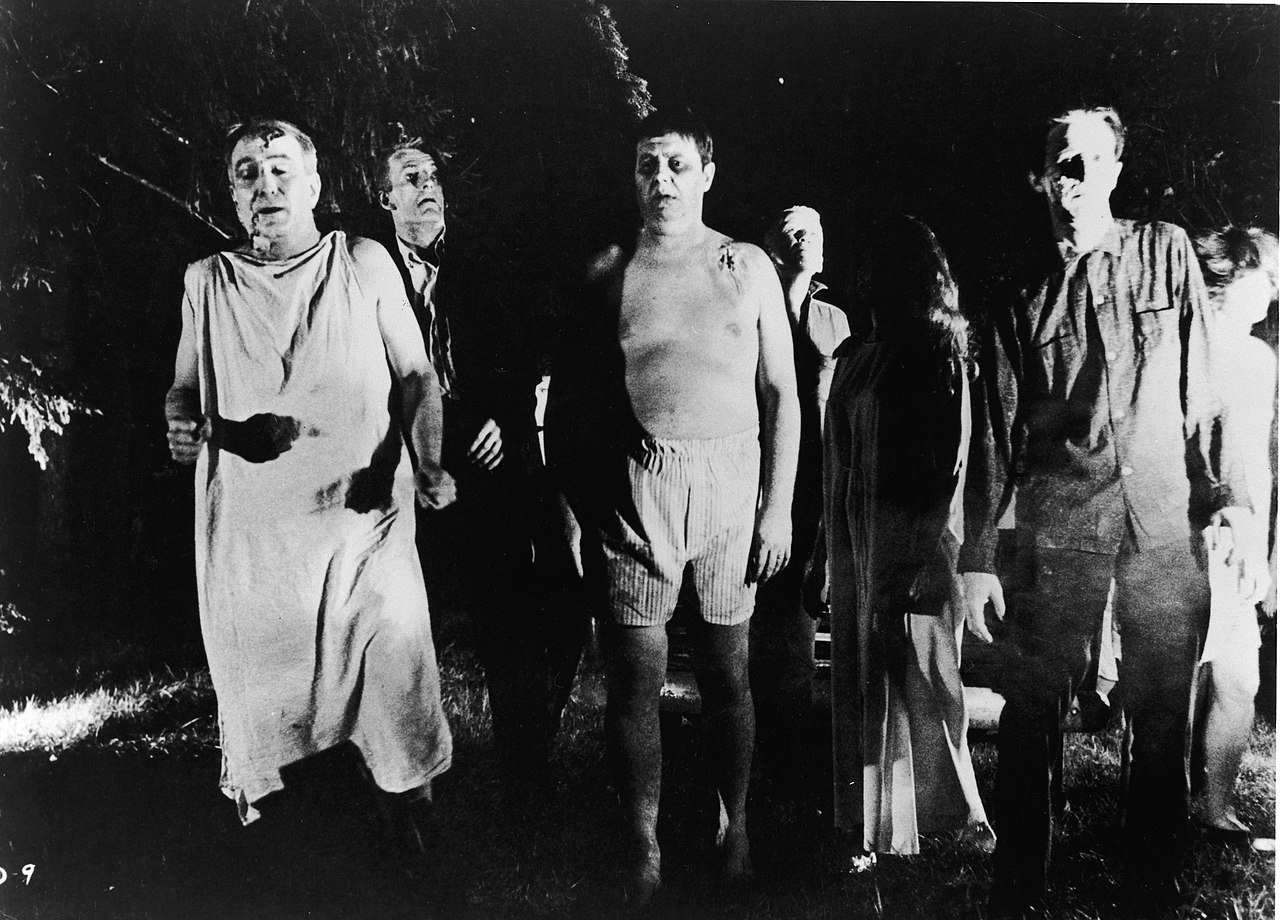 """Still from """"Night of the Living Dead"""" 1968 