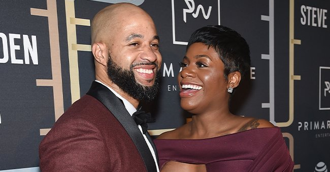 See Fantasia's Baby Trying to Pull Her Father's Beard off in New Close-up Photo