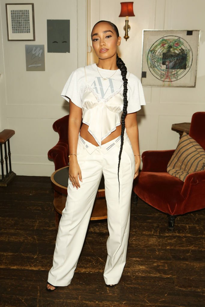 Leigh-Anne Pinnock of Little Mix attends the #OwnTheTable event at Soho House on March 10, 2020 in London, England.   Photo: Getty Images