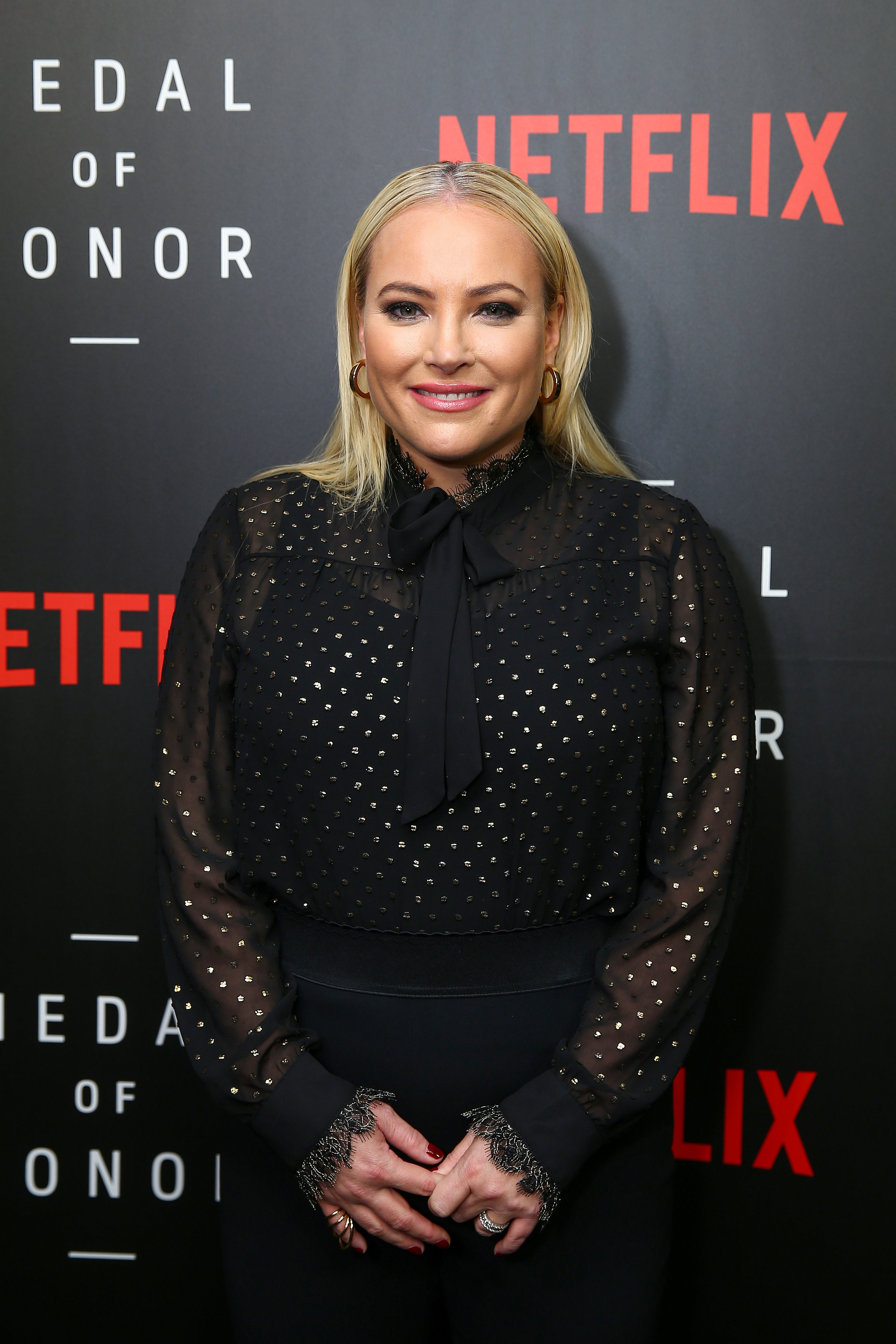 "Meghan McCain attends the Netflix ""Medal of Honor"" screening and panel discussion in Washington on November 13, 2018 