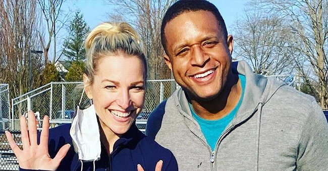 Craig Melvin's Wife Celebrates His 42nd Birthday with Family Photos & Tribute