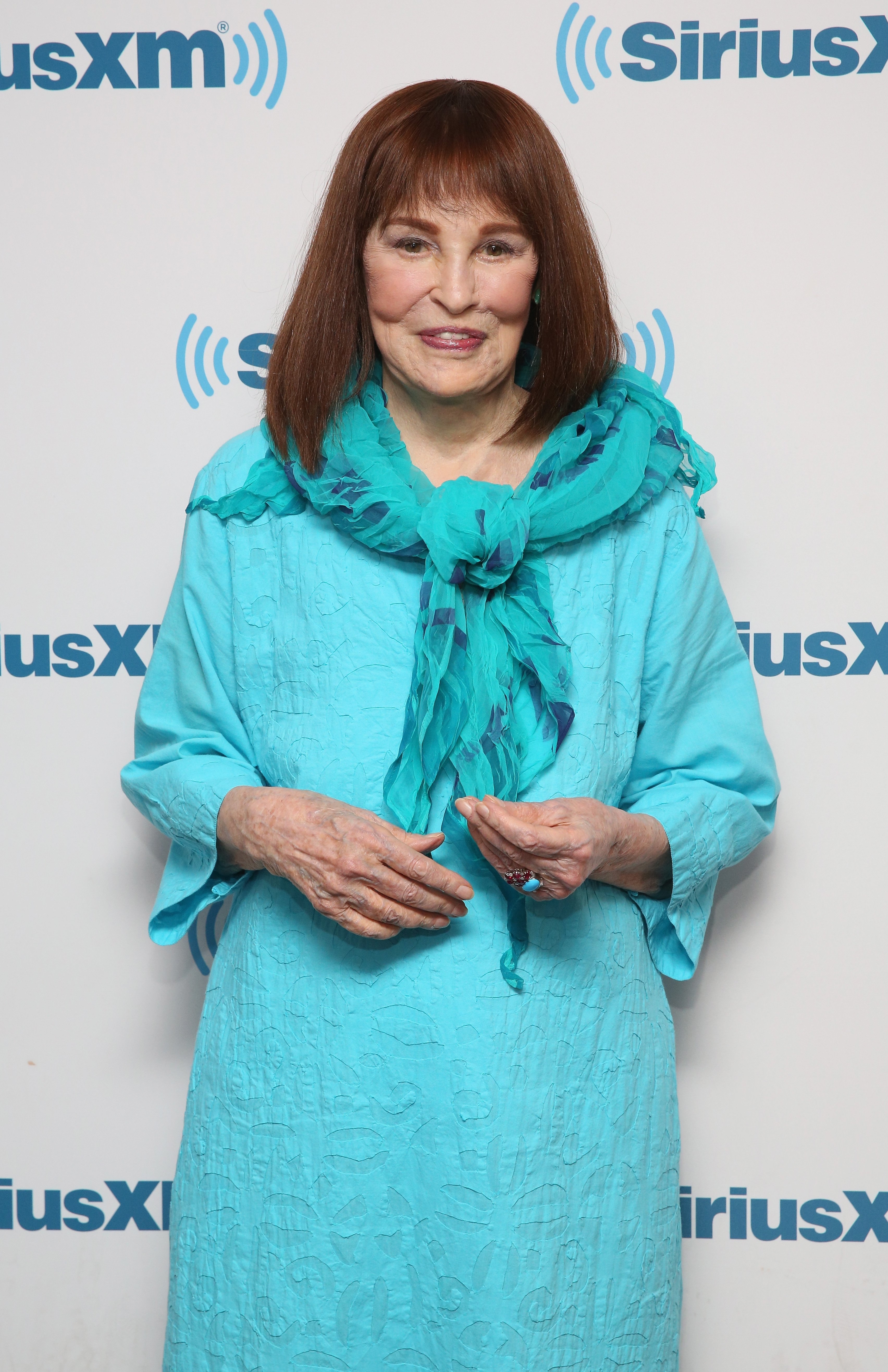 Gloria Vanderbilt attends SiriusXM's 'Town Hall' on July 14, 2016, in New York City.   Source: Getty Images.