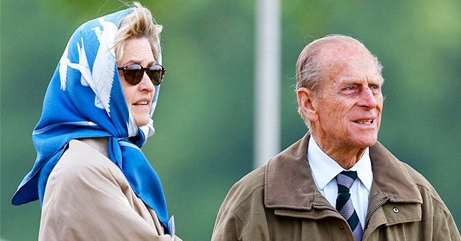 Penelope Knatchbull, Lady Brabourne and Prince Philip, Duke of Edinburgh attend day 3 of the Royal Windsor Horse Show in Home Park on May 12, 2007 | Photo: Getty Images