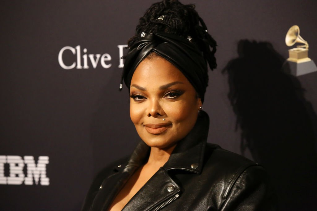 "Janet Jackson attends the Pre-GRAMMY Gala and GRAMMY Salute to Industry Icons Honoring Sean ""Diddy"" Combs at The Beverly Hilton Hotel on January 25, 2020 