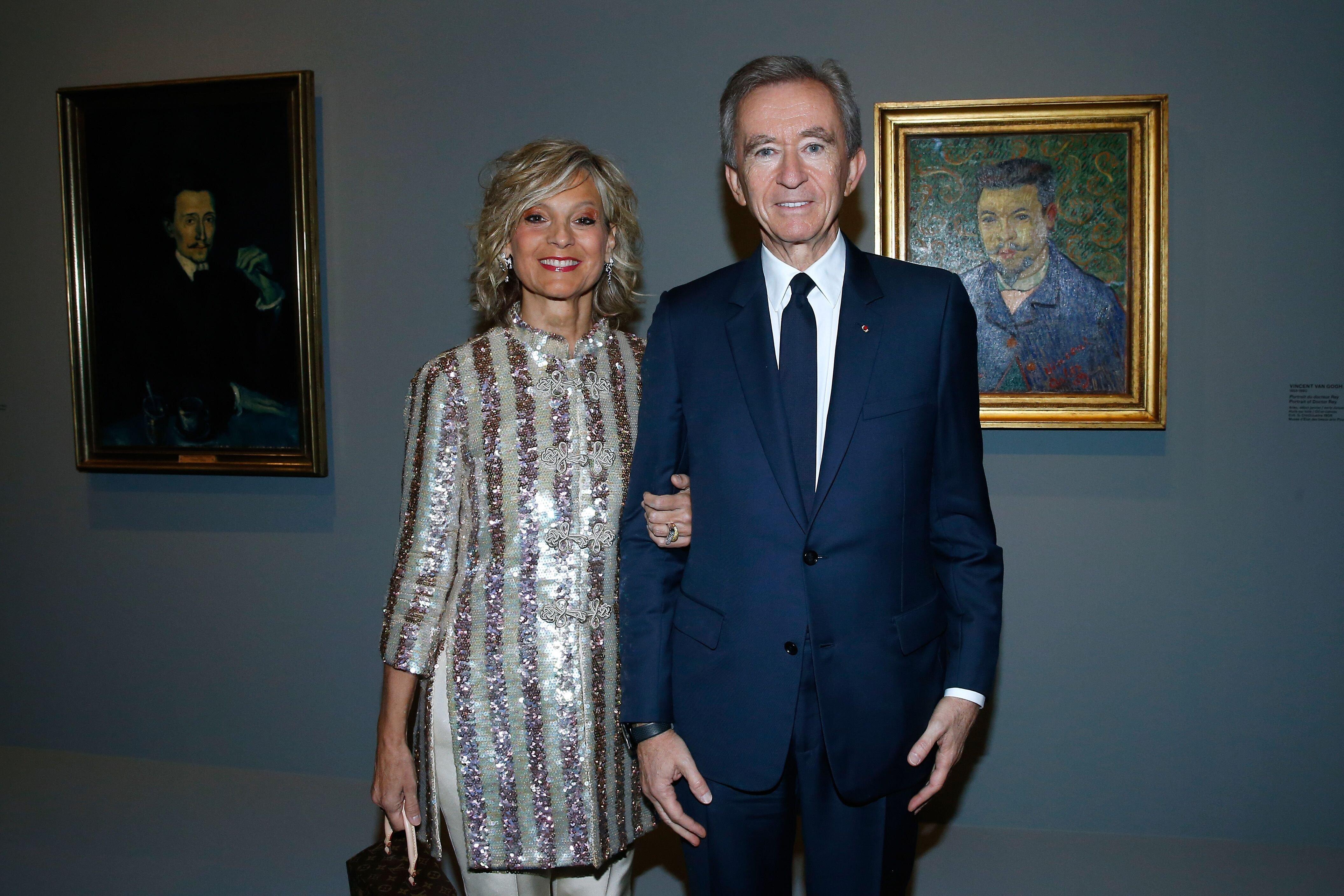 Bernard Arnault et sa compagne Hélène. l Souce: Getty Images