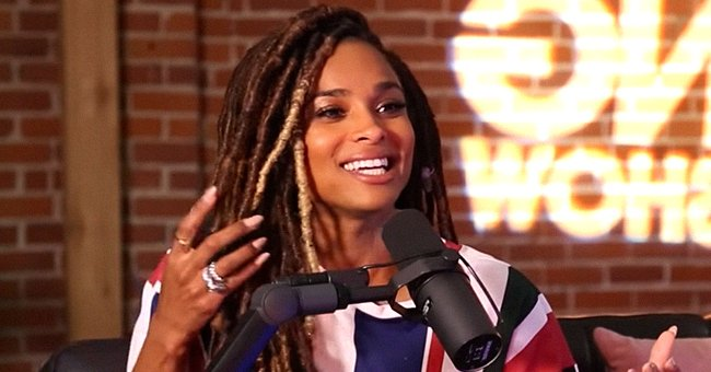 Ciara Looks Chic In a Black Tailored Suit & Waist-Length Braids