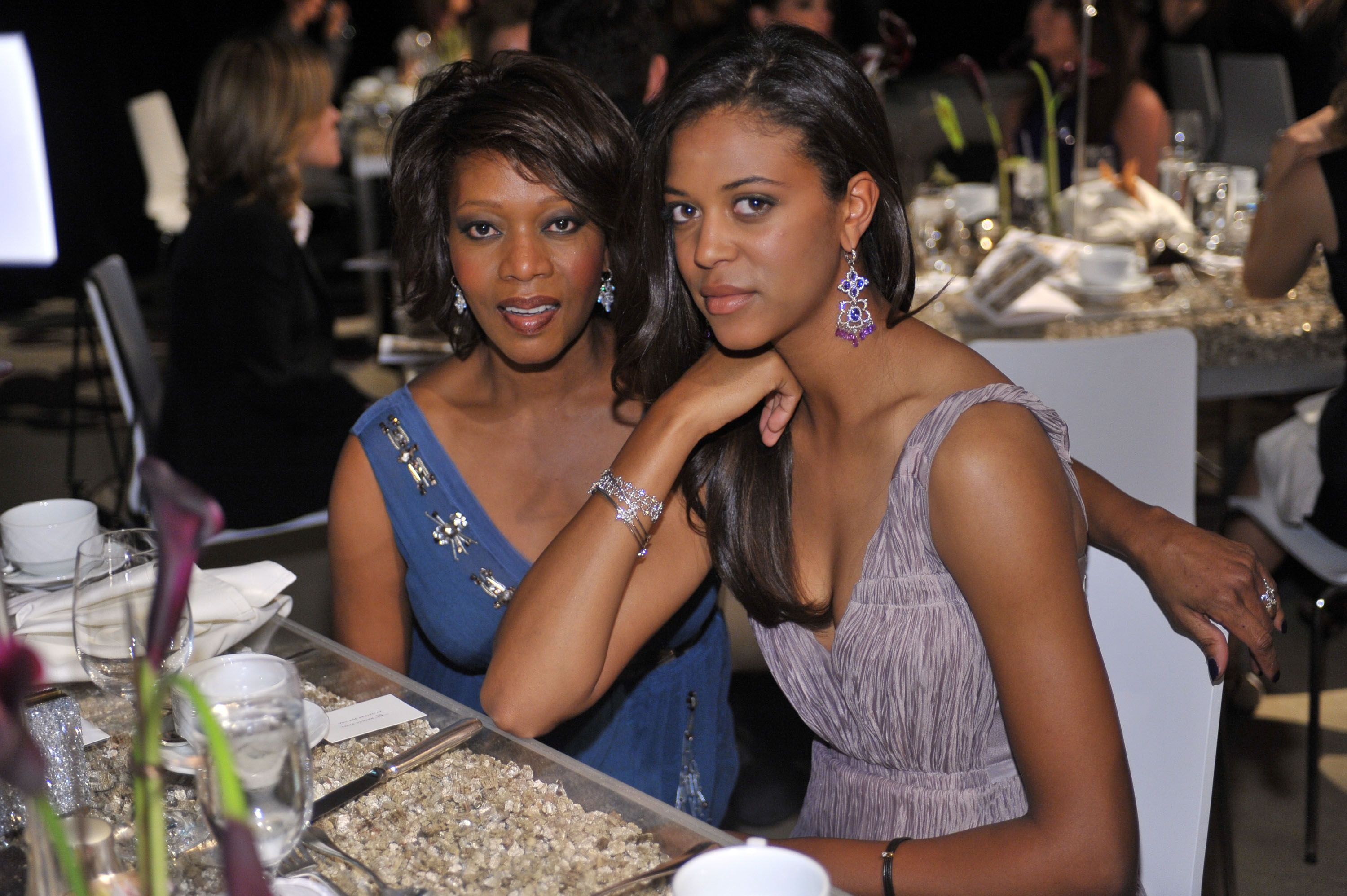 Alfre Woodard and Mavis Spencer at the 9th Annual Awards Season Diamond Fashion Show in 2010 in Holywood | Source: Getty Images