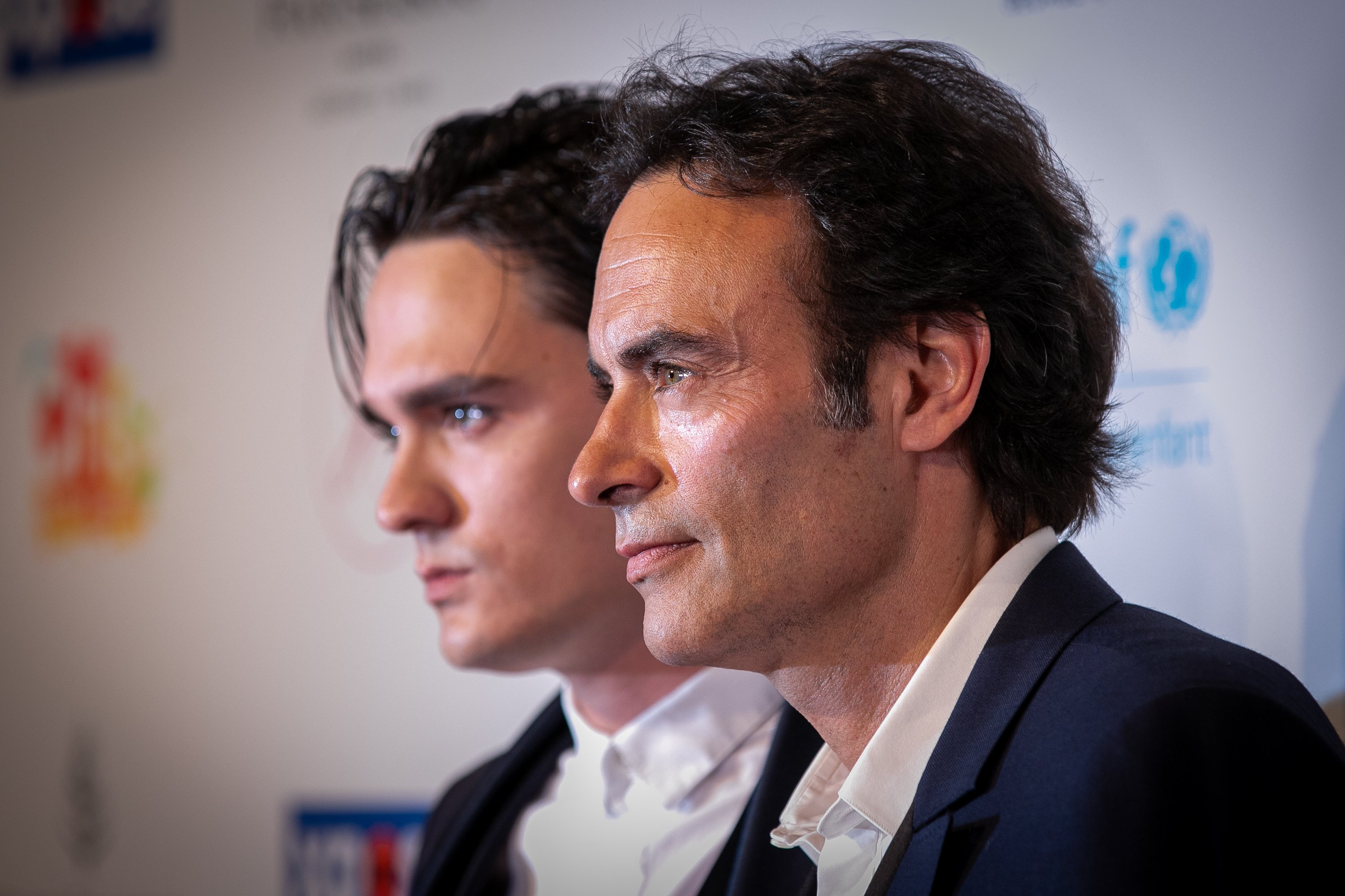 Alain-Fabien Delon et Anthony Delon le 03 juin 2019 à Paris, France | Photo : Getty images