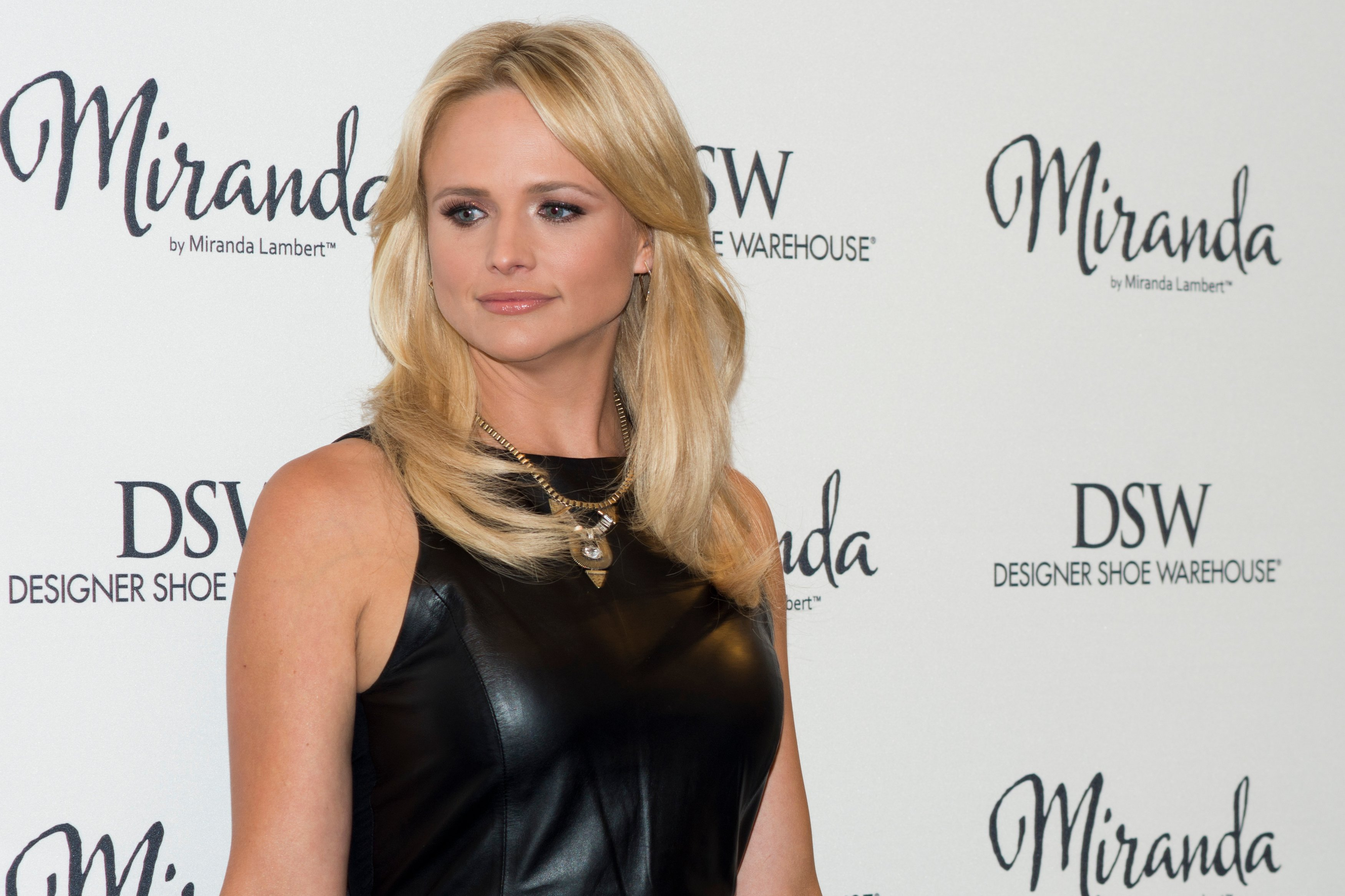 Miranda Lambert poses for a portrait as she promotes her new shoe collection at DSW Designer Shoe Warehouse | Getty Images / Global Images Ukraine