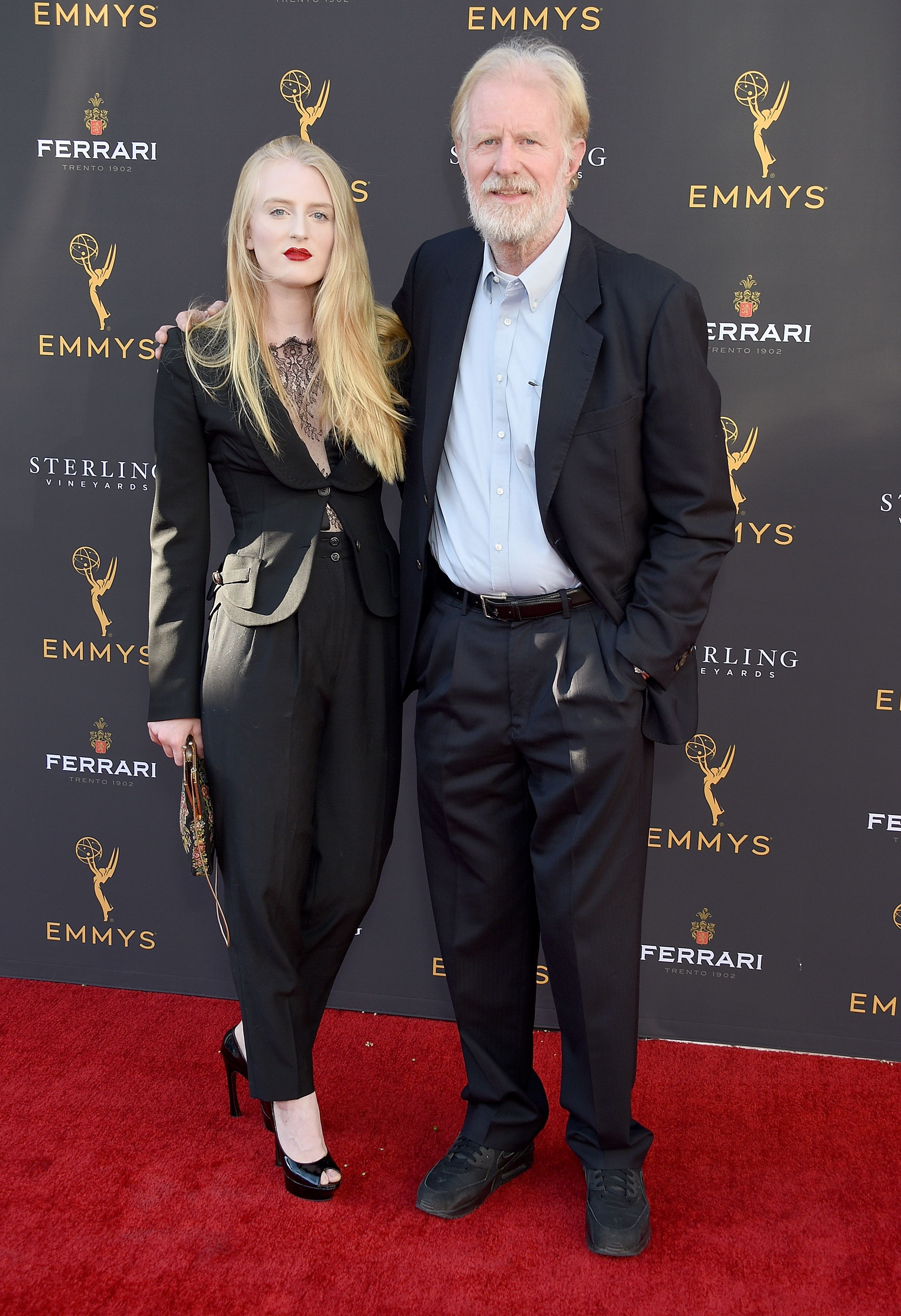 Ed Begley Jr. and daughter Hayden Carson Begley arrive at the Television Academy's Performers Peer Group Celebration at Saban Media Center on August 25, 2019 in North Hollywood, California.   Source: Getty Images