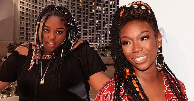 Brandy Norwood's Only Child Sy'rai Is the Spitting Image of Mom and Sounds like Her