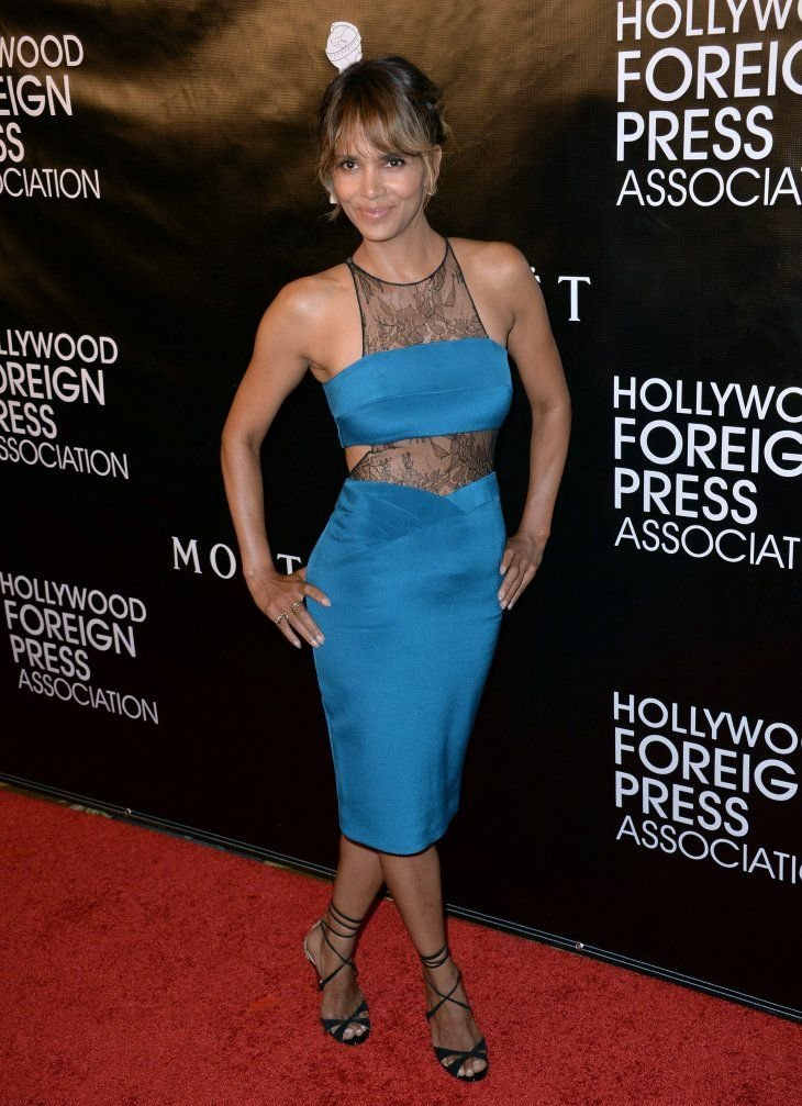 Academy Award winning actress Halle Berry at the Hollywood Foreign Press Association's Grants Banquet on August 13, 2015 in Los Angeles.   Photo: Getty Images