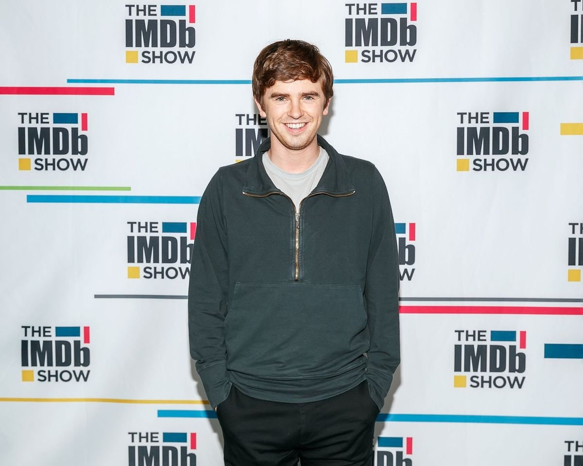 Freddie Highmore visit's 'The IMDb Show' on September 23, 2019 in Studio City, California. This episode of 'The IMDb Show' airs on October 3, 2019 | Photo: Getty Images