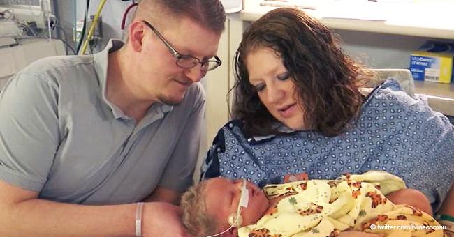 Le dijeron que nunca tendría bebés, ahora cuenta cómo se sintió dar a luz a niña de casi 7 kilos