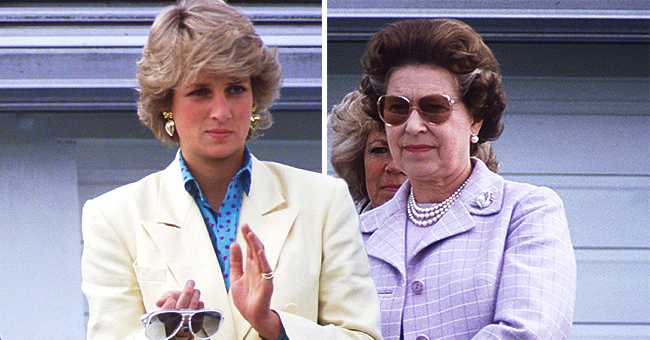 Here's What Caused the Alleged Tense Relationship between Queen Elizabeth II and Princess Diana